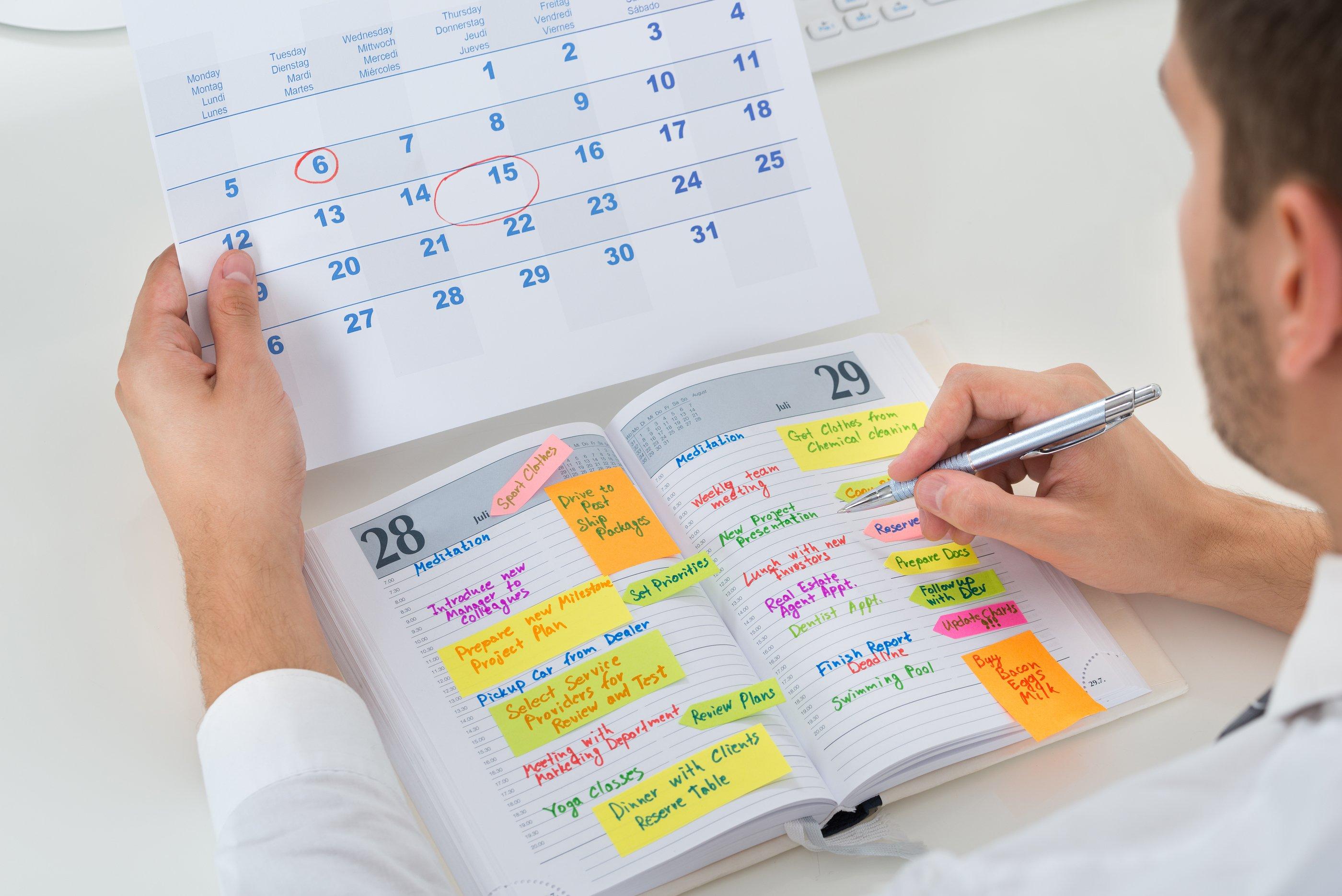 bigstock-Businessman-With-Calendar