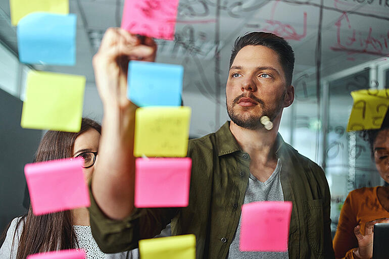 bigstock-Concentrated-postits
