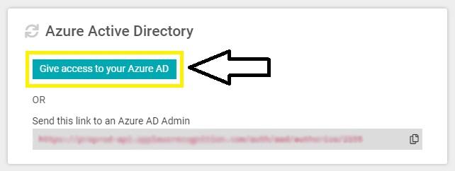 Azure AD integration Image 1-1