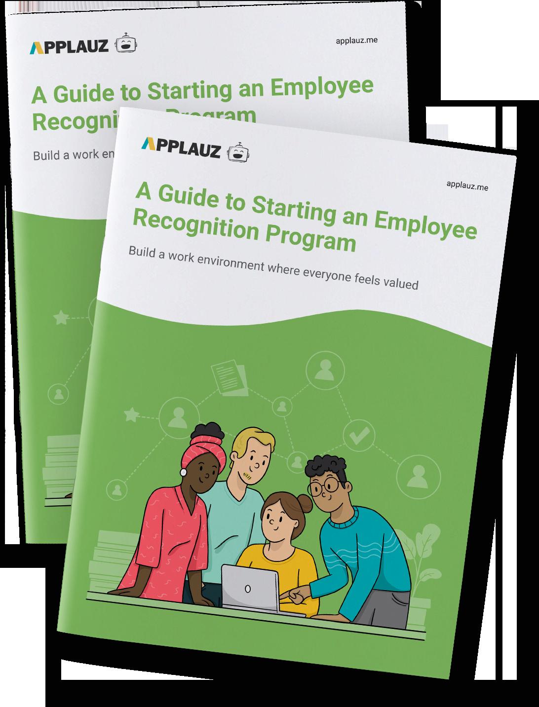 Recognize colleague work message