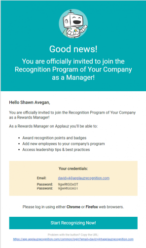 Starting your Company Recognition Program